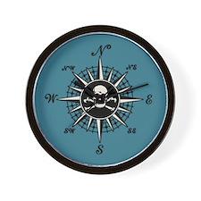 Compass Rose II Wall Clock