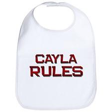 cayla rules Bib
