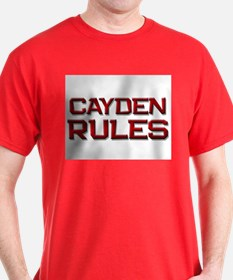 cayden rules T-Shirt