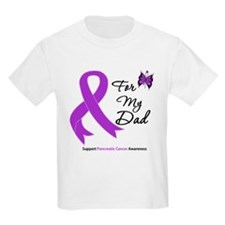 Pancreatic Cancer Dad T-Shirt
