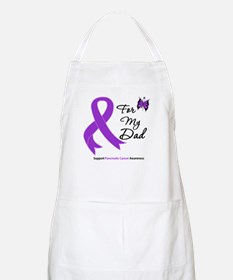 Pancreatic Cancer Dad BBQ Apron