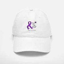 Pancreatic Cancer Dad Baseball Baseball Cap