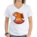 Screamin Eagle Women's V-Neck T-Shirt