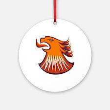Screamin Eagle Ornament (Round)