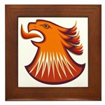 Screamin Eagle Framed Tile