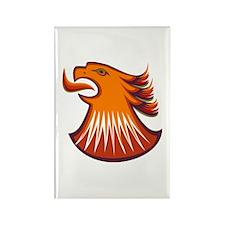 Screamin Eagle Rectangle Magnet