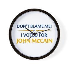 Don't Blame Me... Wall Clock