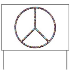 Peace, Baby Yard Sign