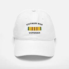 Vietnam War Veteran 2 Baseball Baseball Cap