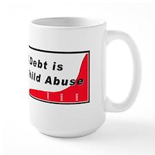 Economic Child Abuse Mug