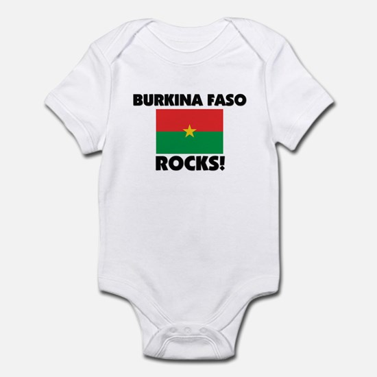 Burkina Faso Rocks Infant Bodysuit