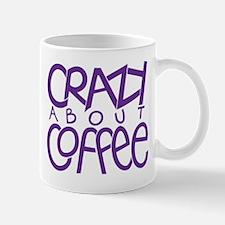 Crazy Coffee Purple Mug