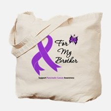 Pancreatic Cancer Brother Tote Bag