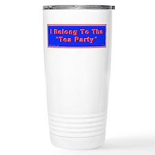 Tea Party Travel Coffee Mug