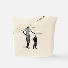 A/wife/husband Tote Bag