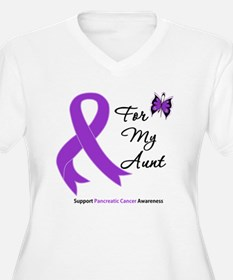 Pancreatic Cancer Aunt T-Shirt