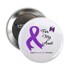 "Pancreatic Cancer Aunt 2.25"" Button"