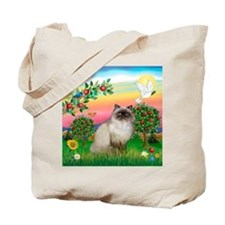 Bright Country / Himalayan Cat Tote Bag