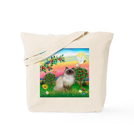 Bright Country / Himalayan Cat Tote Bag