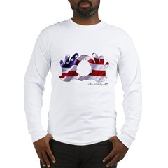 Hand Sign Flag Long Sleeve T-Shirt