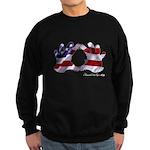 Hand Sign Flag Sweatshirt (dark)