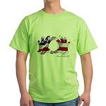 Hand Sign Flag Green T-Shirt