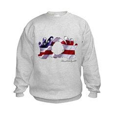 Hand Sign Flag Sweatshirt