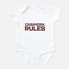 casandra rules Infant Bodysuit