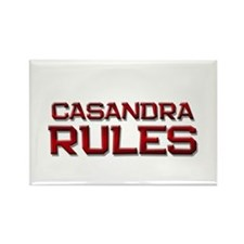 casandra rules Rectangle Magnet