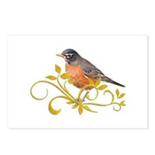 Robin Postcards (Package of 8)