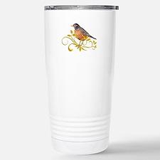 Robin Thermos Mug