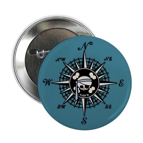 "Compass Cap'n Pappy 2.25"" Button (100 pack)"