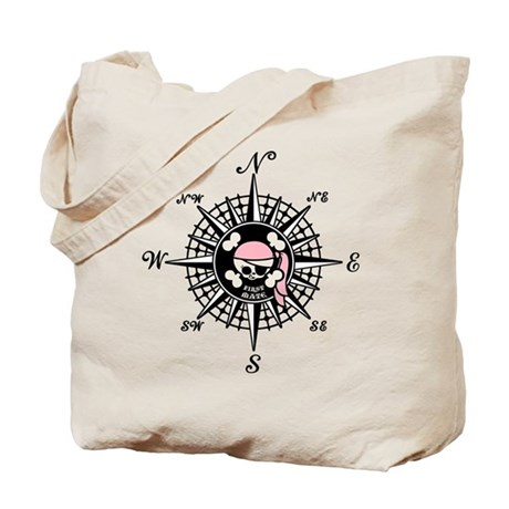 Compass Wenchy Wifey Tote Bag