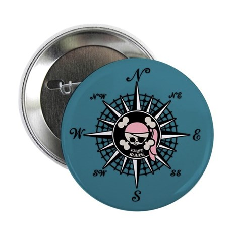 """Compass Wenchy Wifey 2.25"""" Button (100 pack)"""
