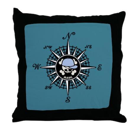 Compass Mate Sonny Throw Pillow