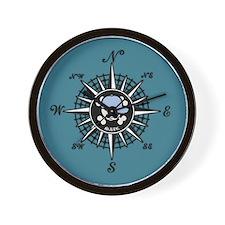 Compass Mate Sonny Wall Clock