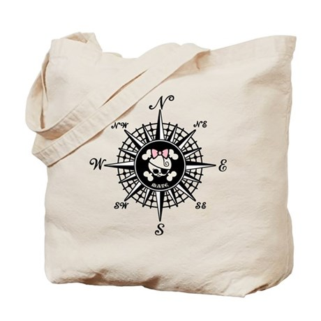 Compass Mate Dotter Tote Bag