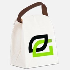 Optic Canvas Lunch Bag