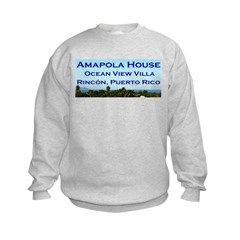 Amapola House in Rincon, PR Sweatshirt