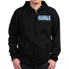 Amapola House in Rincon, PR Zip Hoodie