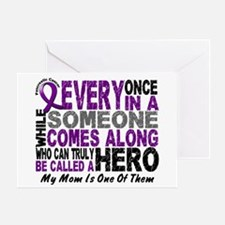 HERO Comes Along 1 Mom PC Greeting Card