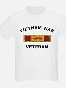 Vietnam War Veteran 3 Kids T-Shirt