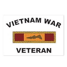Vietnam War Veteran 3 Postcards (Package of 8)
