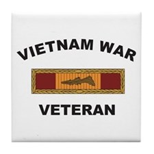 Vietnam War Veteran 3 Tile Coaster