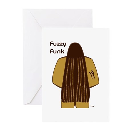 Fuzzy Funk Greeting Cards (Pk of 20)