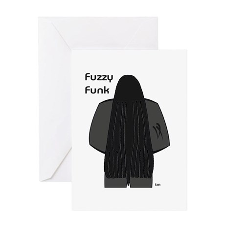 Fuzzy Funk Greeting Card