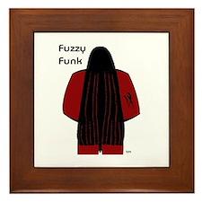 Fuzzy Funk Framed Tile