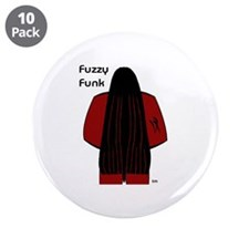 "Fuzzy Funk 3.5"" Button (10 pack)"