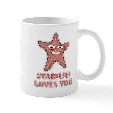 Starfish Loves You Mug