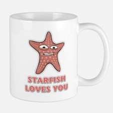 Starfish Loves You Mug